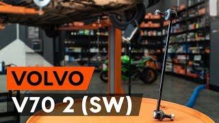 Kā nomainīt priekšas stabilizatora atsaite VOLVO V70 2 (SW) [AUTODOC VIDEOPAMĀCĪBA]
