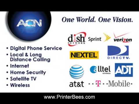 Acn business card from httpprinterbees youtube reheart Gallery