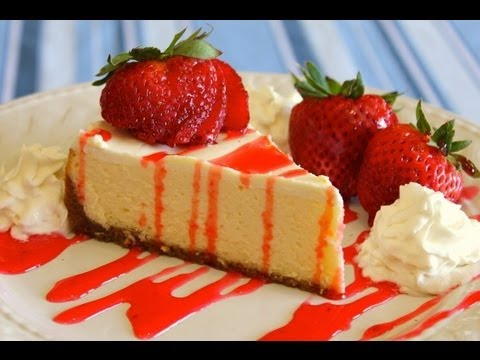 How to Make Easy Homemade New York Style Cheesecake - No Fus