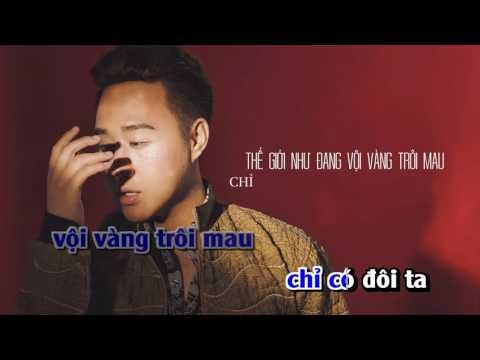 [ Karaoke HD ] Thả Vào Mưa Trung Quân Idol