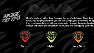 Pick Review # 3 - Dava - Jazz Pick