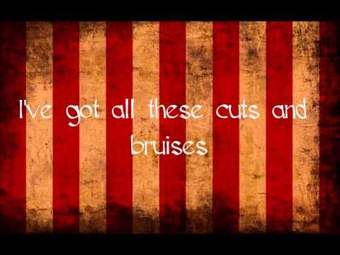 All The Little Pieces - Cuts & Bruises (Lyrics)