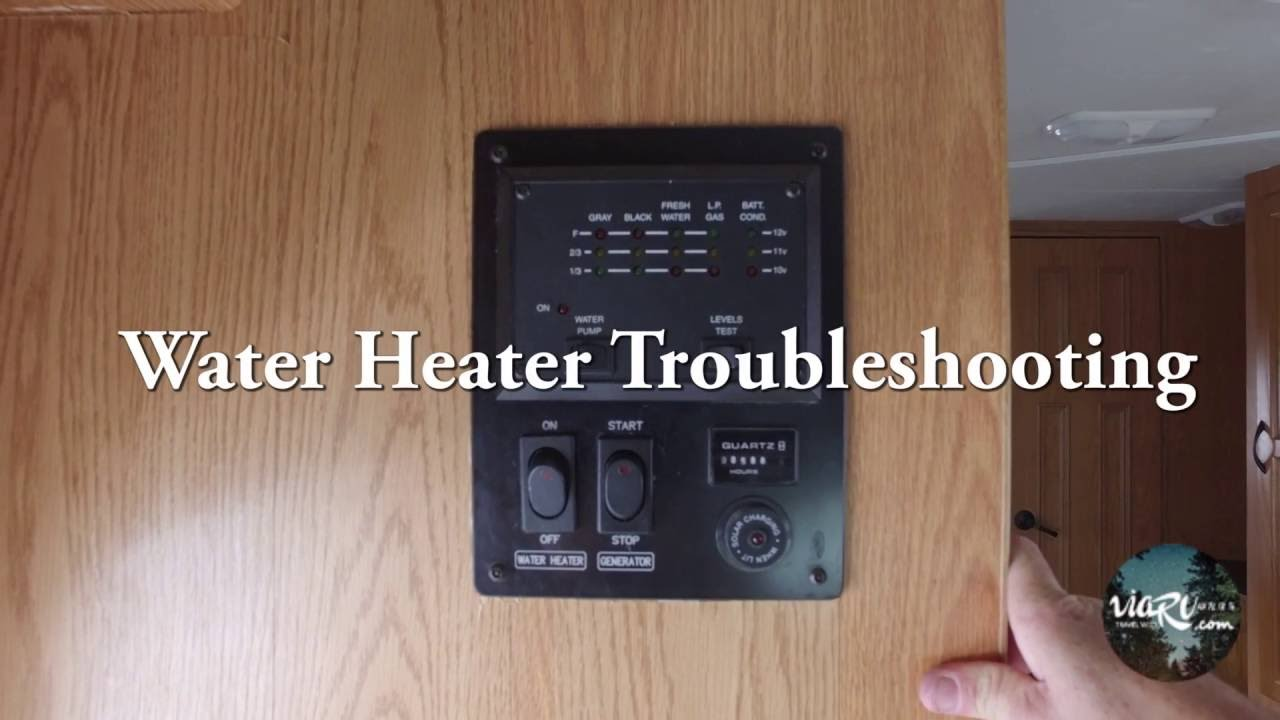 Hot Water Heater Problems >> RV Water Heater Troubleshooting Common Problems - ViaRV ...