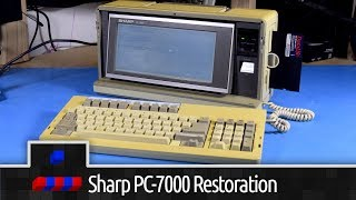 Sharp PC-7000 Restoration