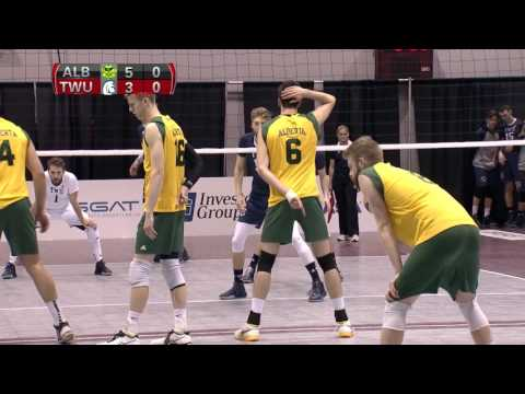 CIS Men's Volleyball Championship 2016 - Game 7 - Alberta vs Trinity Western 11_3_16