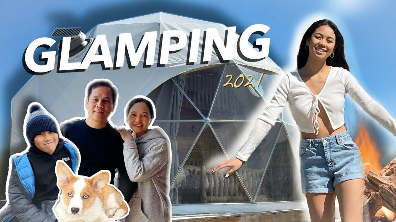 We Tried GLAMPING!! (wild experience.. literally)