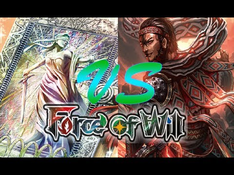Force of Will (TCG) Feature Match: Butterfly Light Book vs 4 Color Adelbert