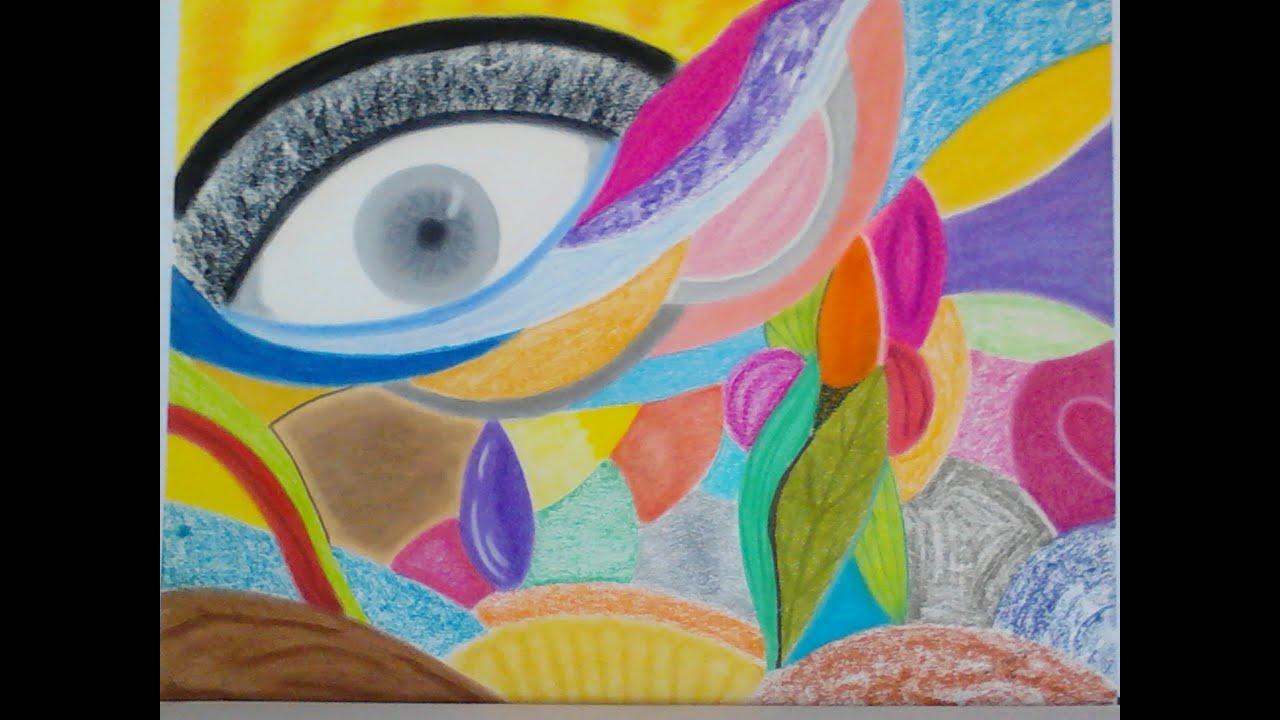 Top pastels secs dessins abstraits - YouTube EN59