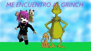 I FIND A GRINCH IN THE INSTITUTE!! EP2 /SALUDOS/ROBLOXIAN LIFE /ROBLOX