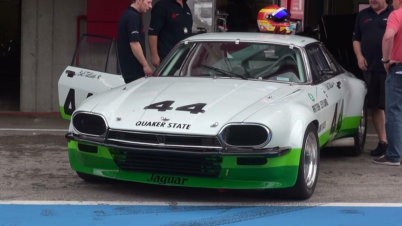 Jaguar XJS 1975 Trans-Am V12 Straight Pipes - YouTube