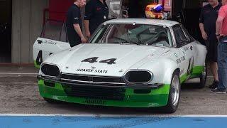 Jaguar XJS  1975 Trans-Am V12 Straight Pipes