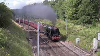 LMS 46233 Rips over Shap on the CME 5/8/17