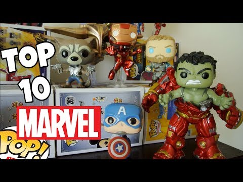 Top 10 Marvel Funko Pops!!