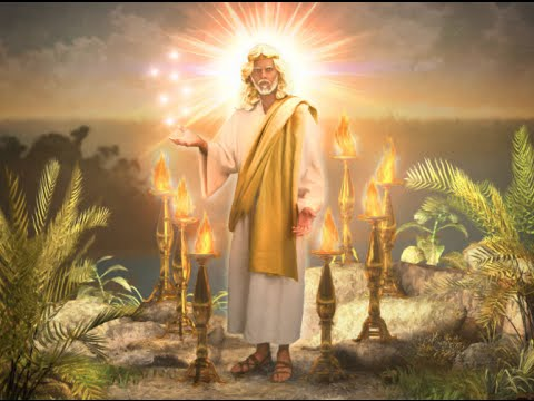 """Revelation Chapter 1:12-17 Passover 2013 """"Picture of Jesus ..."""