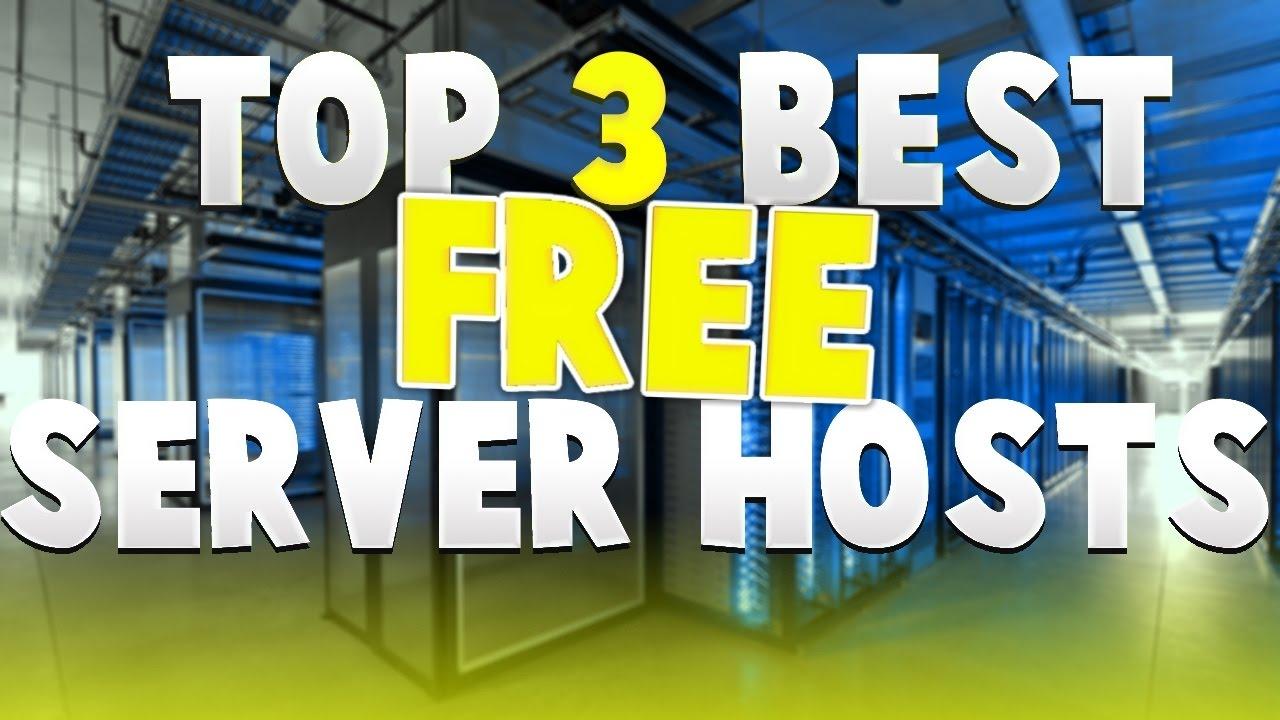 MINECRAFT: TOP 3 FREE Server Hosting Sites - YouTube