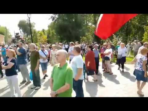 Мощное выступление деда о Единой России