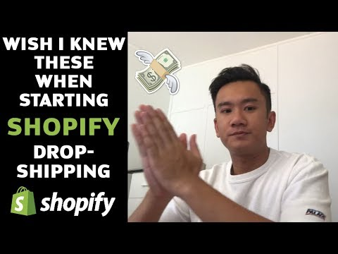 4 Things I Wish I Knew When Starting Shopify