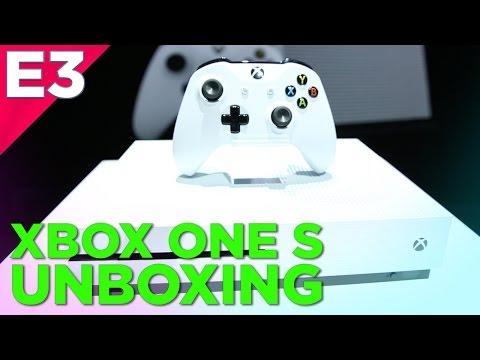 Xbox One S Unboxing And XBOX SCORPIO Interview @ E3 2016