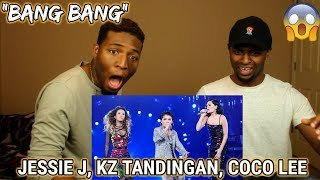 "Video Jessie J / Coco Lee / KZ Tandingan《Bang Bang》""Singer 2018"" Episode 13 (REACTION) download MP3, 3GP, MP4, WEBM, AVI, FLV April 2018"