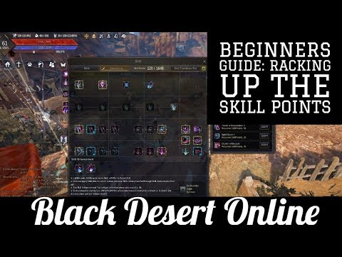 Black Desert Online [BDO] How to Grind Skill Points: Sub Request