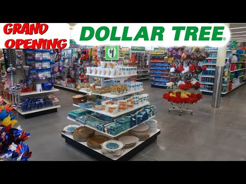 NEW DOLLAR TREE GRAND OPENING/ COME WITH ME!!