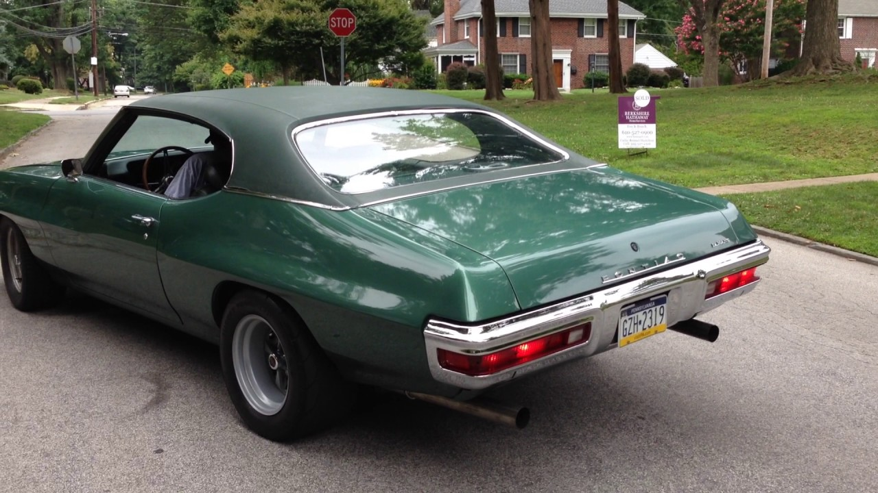 1970 pontiac lemans 455 the green monster  [ 1280 x 720 Pixel ]
