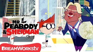 Moon Vacation | THE MR. PEABODY AND SHERMAN SHOW