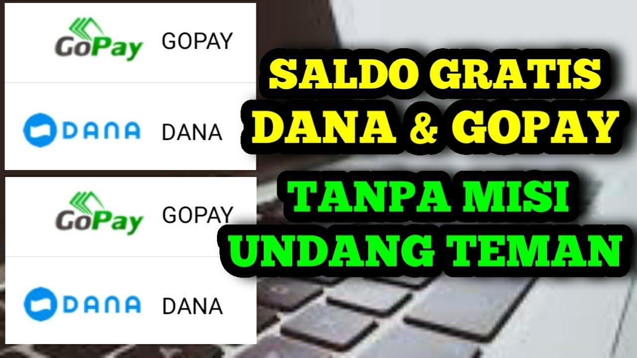 Saldo dana & gopay gratis setiap hari dari aplikasi game