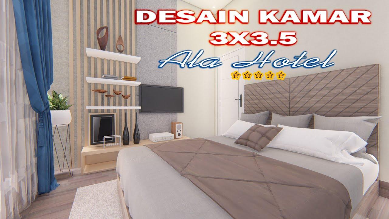 Desain Kamar Tidur Ala Hotel Cocok Untuk Pengantin Baru Youtube