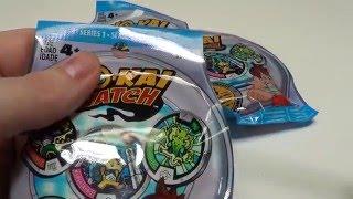 QR Codes And Yokai Watch Medal Unbagging 4