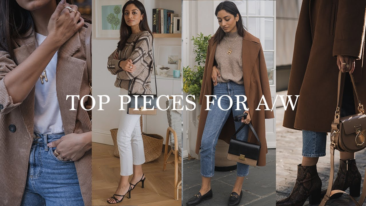 KEY PIECES FOR AUTUMN | LOOKBOOK 1