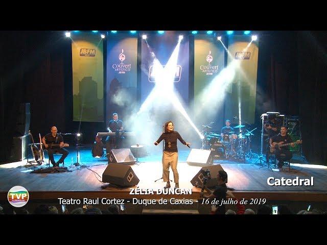 Zélia Duncan  Catedral - Couvert Artístico JBFM Teatro Raul Cortez - TvPrefeito.com