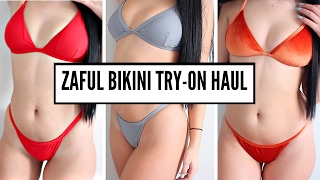BIKINI TRY-ON HAUL | Zaful Review