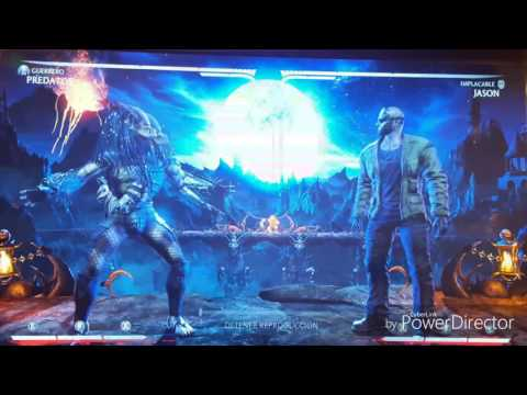 MKX Predator Warrior new mid sceen double self-detonate combos %57 after patch