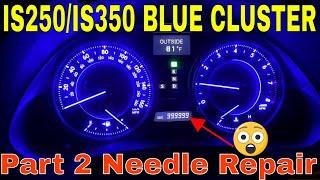 Lexus IS250 IS350 Blue LED Clu…