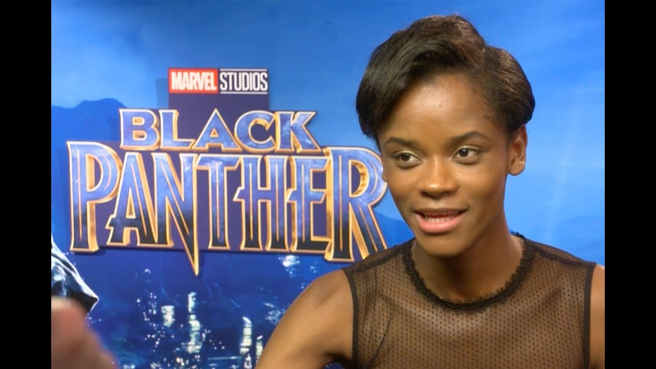 Letitia Wright's Funny Guide To Kicking Ass 'Black Panther' Style - YouTube
