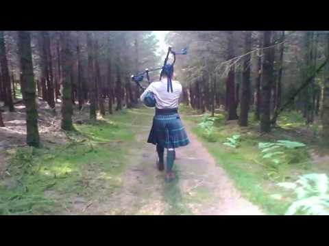 Bagpipes in the Ardennes - Bloody Fields of Flanders