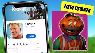Fortnite MOBILE just GOT A UPDATE! Replay Mode, Tomatohead (iOS and Android Download Gameplay)
