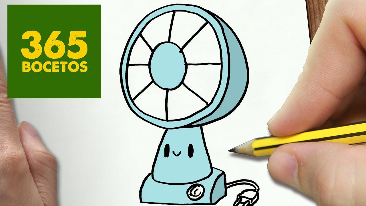 Como dibujar ventilador kawaii paso a paso dibujos kawaii faciles how to draw a ventilator - Fotos de ventiladores ...