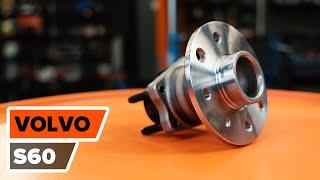 VOLVO S60 video pamācības — patstāvīgi veicami remontdarbi, lai jūsu automašīna turpinātu darboties