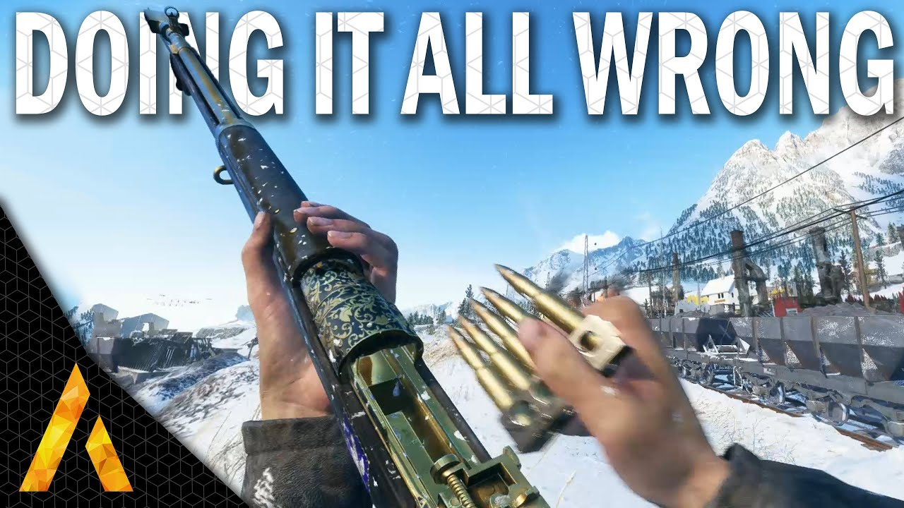 Doing it ALL WRONG - BF5 Iron Sight Ross MkIII gameplay