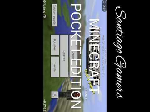 Destruyendo casas   MINECRAFT POCKET EDITION   [ Santiago Gamers ]