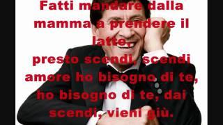 Gianni Morandi - Fatti mandare dalla mamma + testo [HQ stereo]