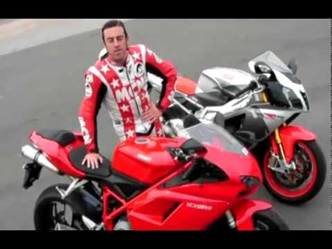 Ducati 1098 vs its V-Twin rivals