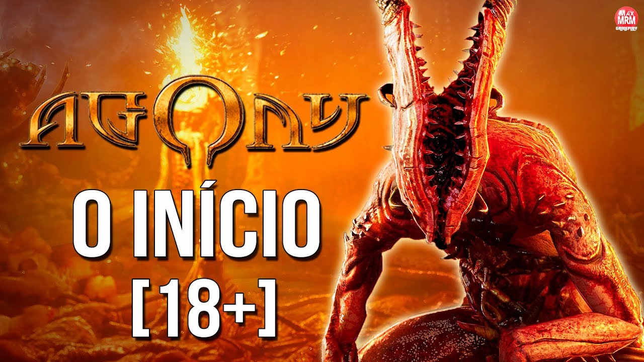 [18+] AGONY : O INÍCIO - GAMEPLAY EXCLUSIVA SEM CENSURA! || Legendado em PT-BR no PC