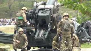 FH-70 155mm榴弾砲 発砲 信太山駐屯地祭にて