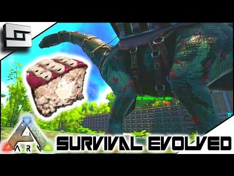 ARK: Survival Evolved - SWEET VEGGIE CAKES! S4E51 ( The Center Map Gameplay )