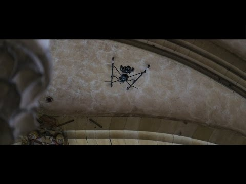 UAV- / Drone-based cathedral inspection & surveying