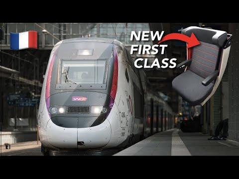 TRIP REPORT | TGV Inoui (1ST CLASS) | TGV Océane | Paris Montparnasse🇫🇷 - Bordeaux Saint Jean🇫🇷