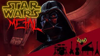 STAR WARS - The Imperial March (Darth Vader's Theme) 【Intense Symphonic Metal Cover】 【85k Special】